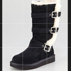 Kid Maddi triple buckle Ugg boot size 11